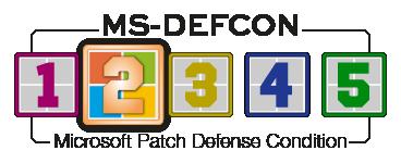 Microsoft Patch Defense Condition level 2
