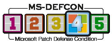 Microsoft Patch Defense Condition level 4