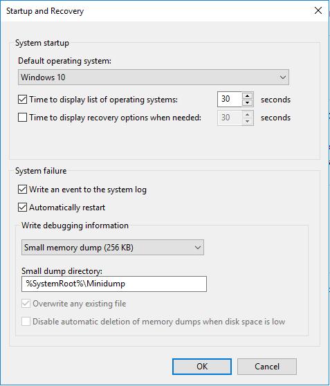Small-memory-dump