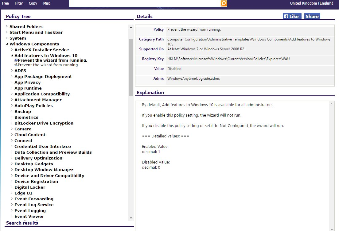 Group Policy and Registry Search
