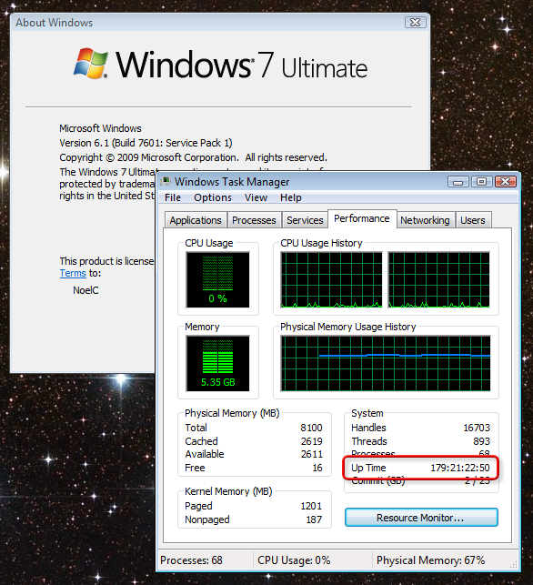 Win7UptimeAlmost6Months
