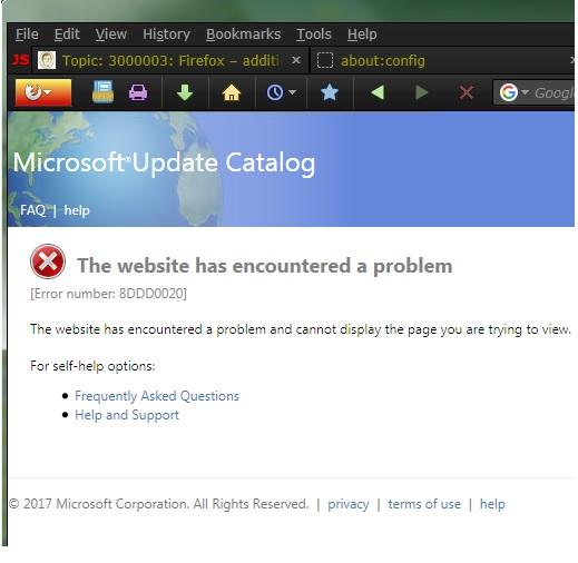 MSC-Error