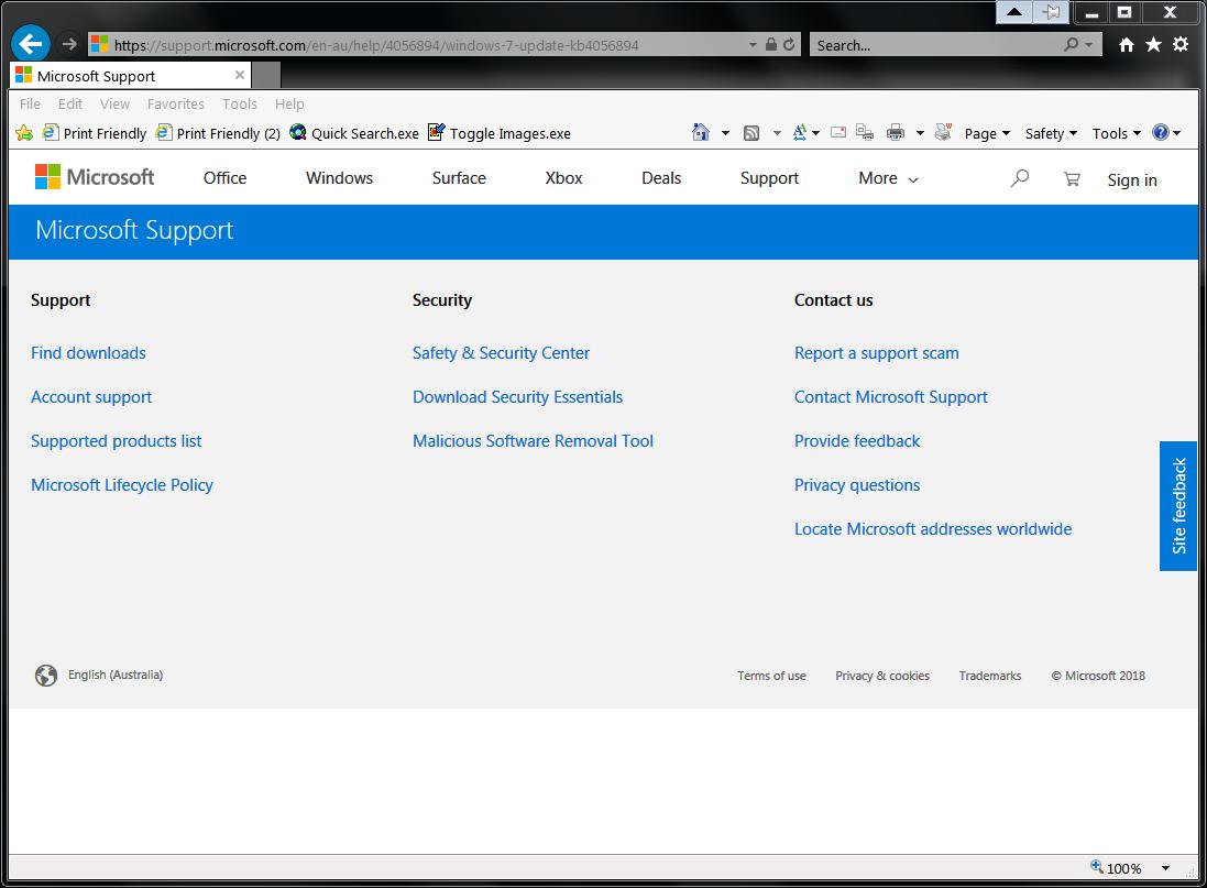 Microsoft-Support-Internet-Explorer