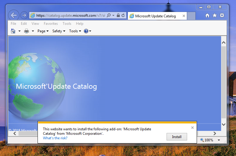 MS-Update-Catalog-site-wanting-to-install-ActiveX