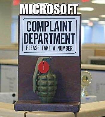 Microsoft-Complaint-Department