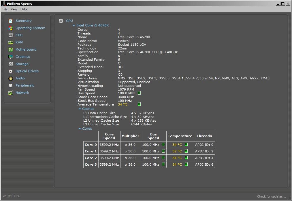 Speccy-CPU-Details