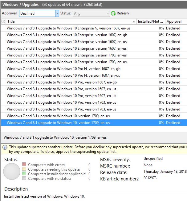 Deploy Windows 10 updates using Windows Server Update ...
