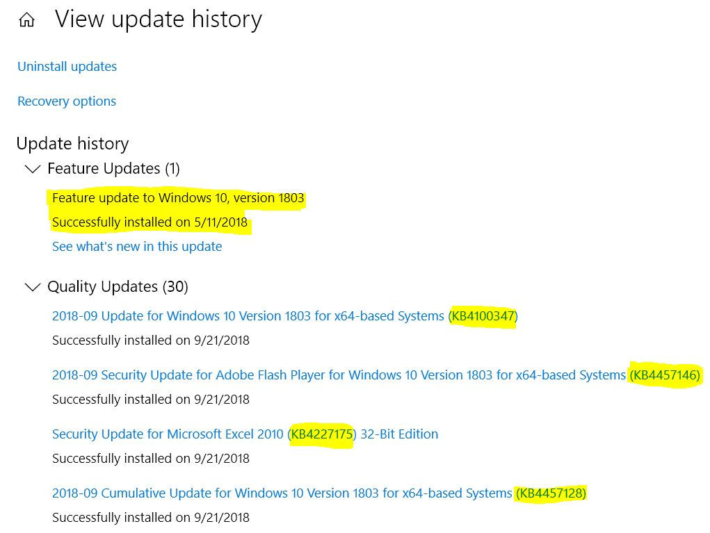 Win1803QualityUpdates