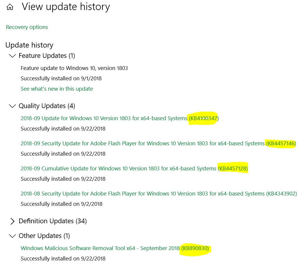 Win1803QualityUpdates8920