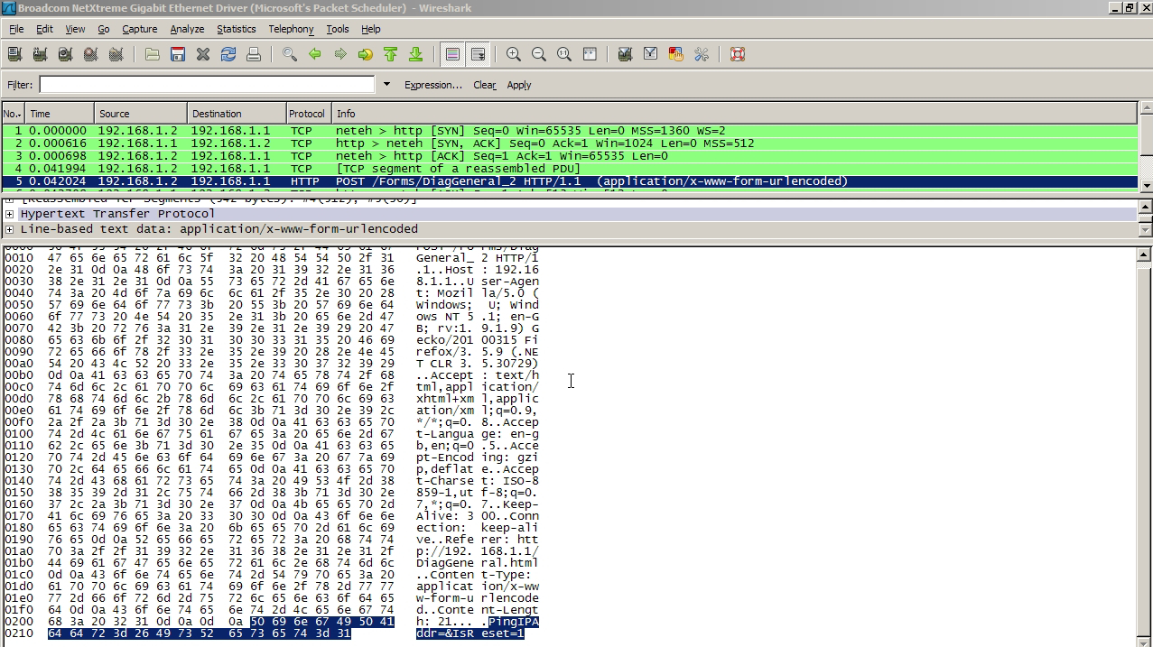 WireShark-Reset-Modem-Capture