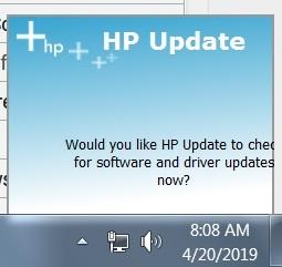 HP-popup