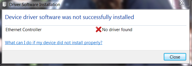 Device-driver-not-successfully-installed