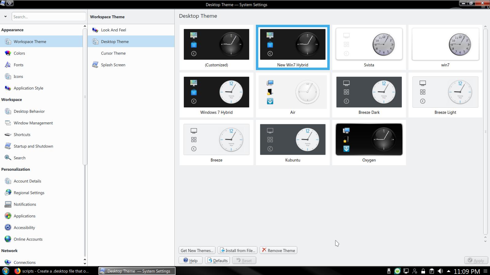 Kubuntu-Desktop-Themes