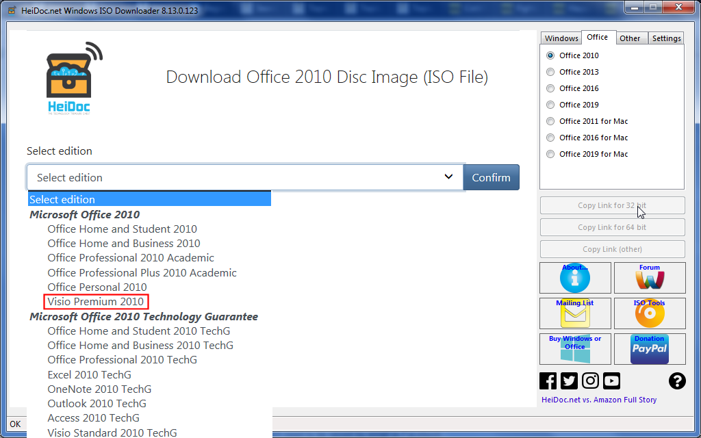 Topic: Download Visio 2010 @ AskWoody