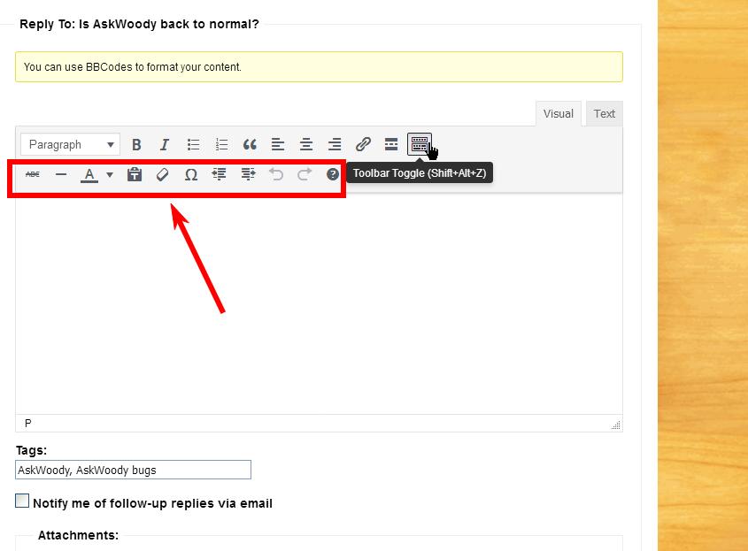 Toolbar-Toggle-Post-Clicking
