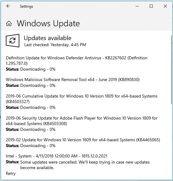 Topic: MS-DEFCON 2: Make sure Windows Update is de-fanged  Patch