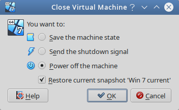 dialog from Virtualbox