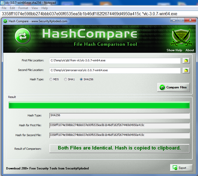vlc_hashes