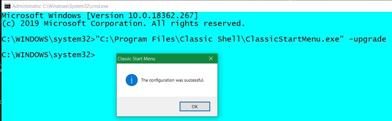ClassicShell-UpgradeSuccess