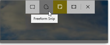 Mini-toolbar
