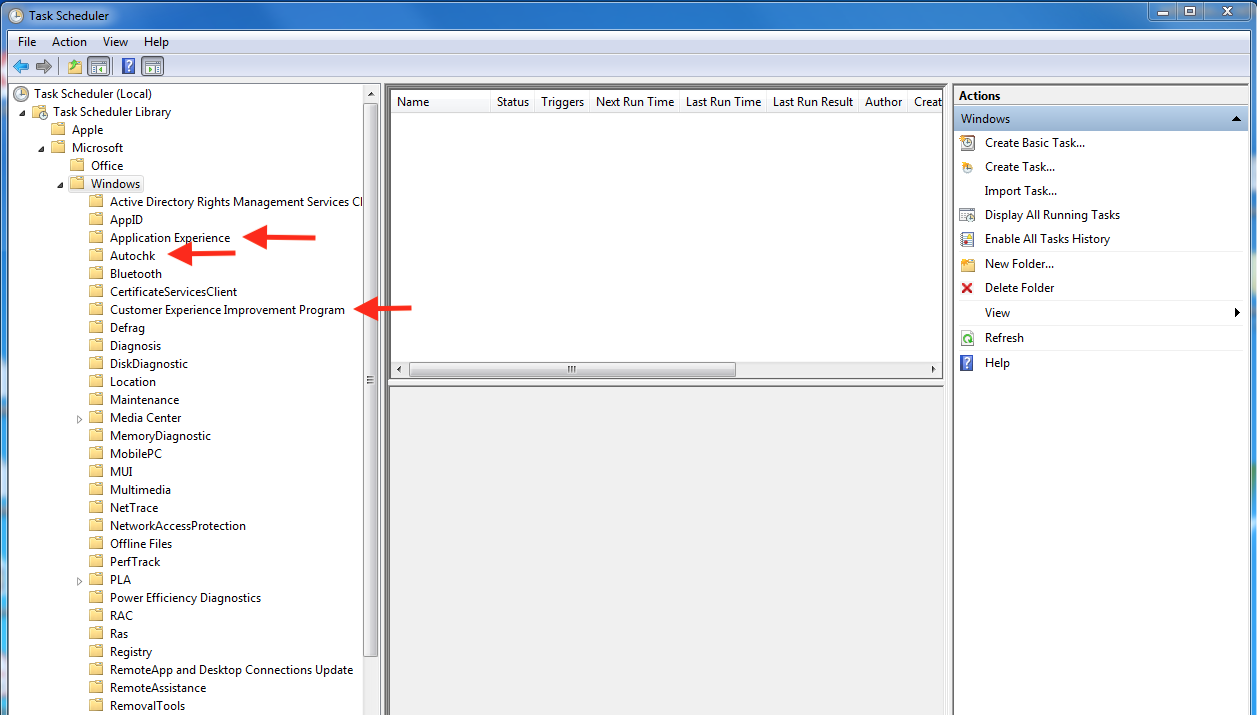 Topic: Problem Using Task Scheduler in Windows 7 @ AskWoody