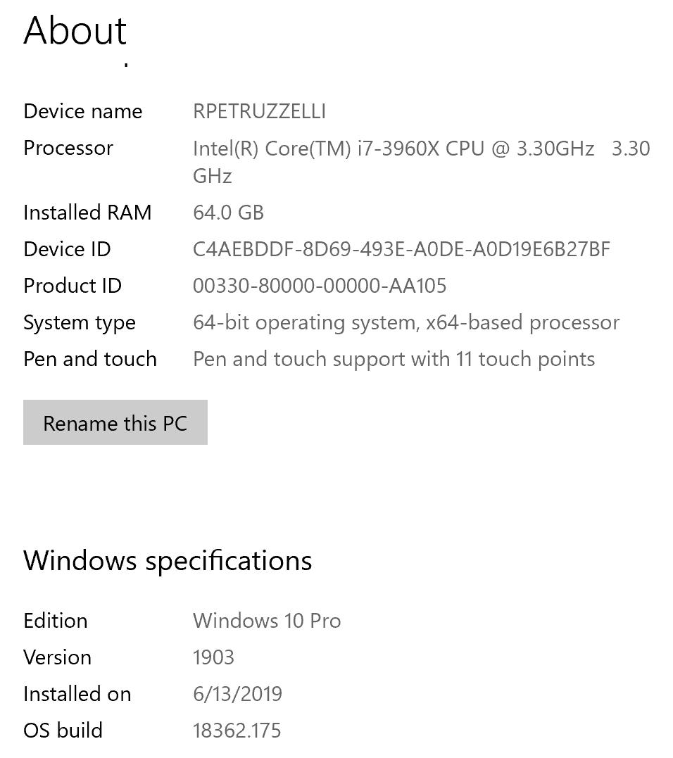 WindowsAbout