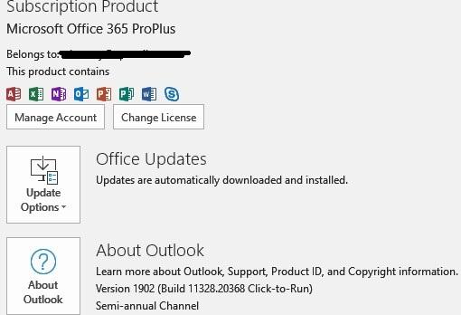Topic: Report that Win10 1903 cumulative update KB 4512508