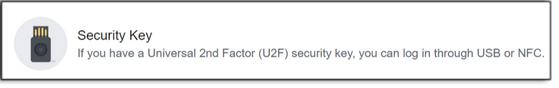 Use a security key