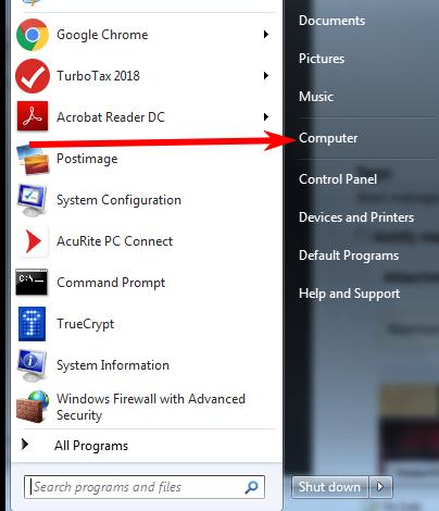 Start-Screen-Computer