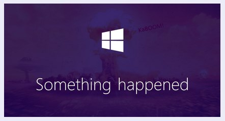 something-happened-windows