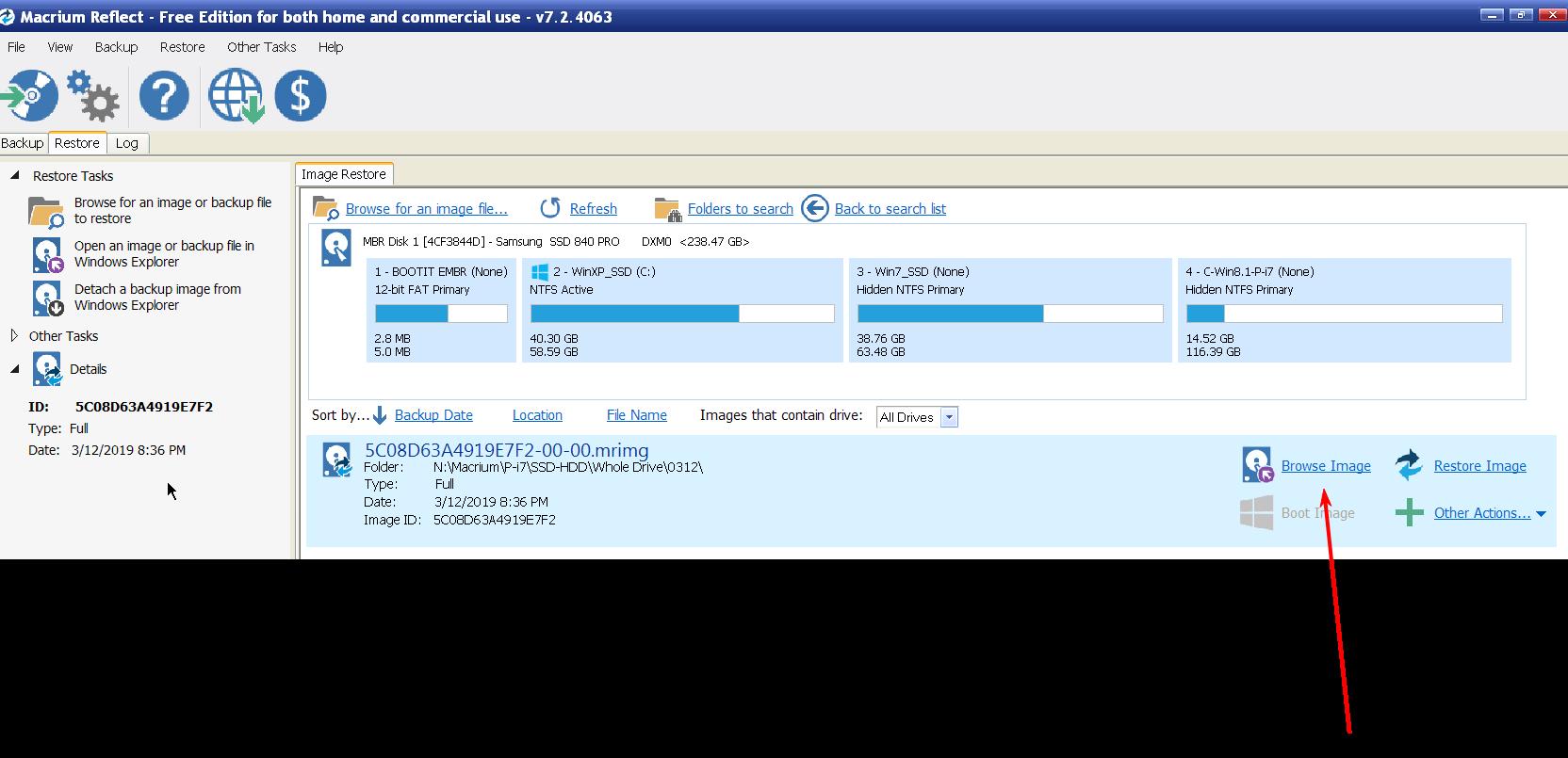 Backup-Image-File-Selected