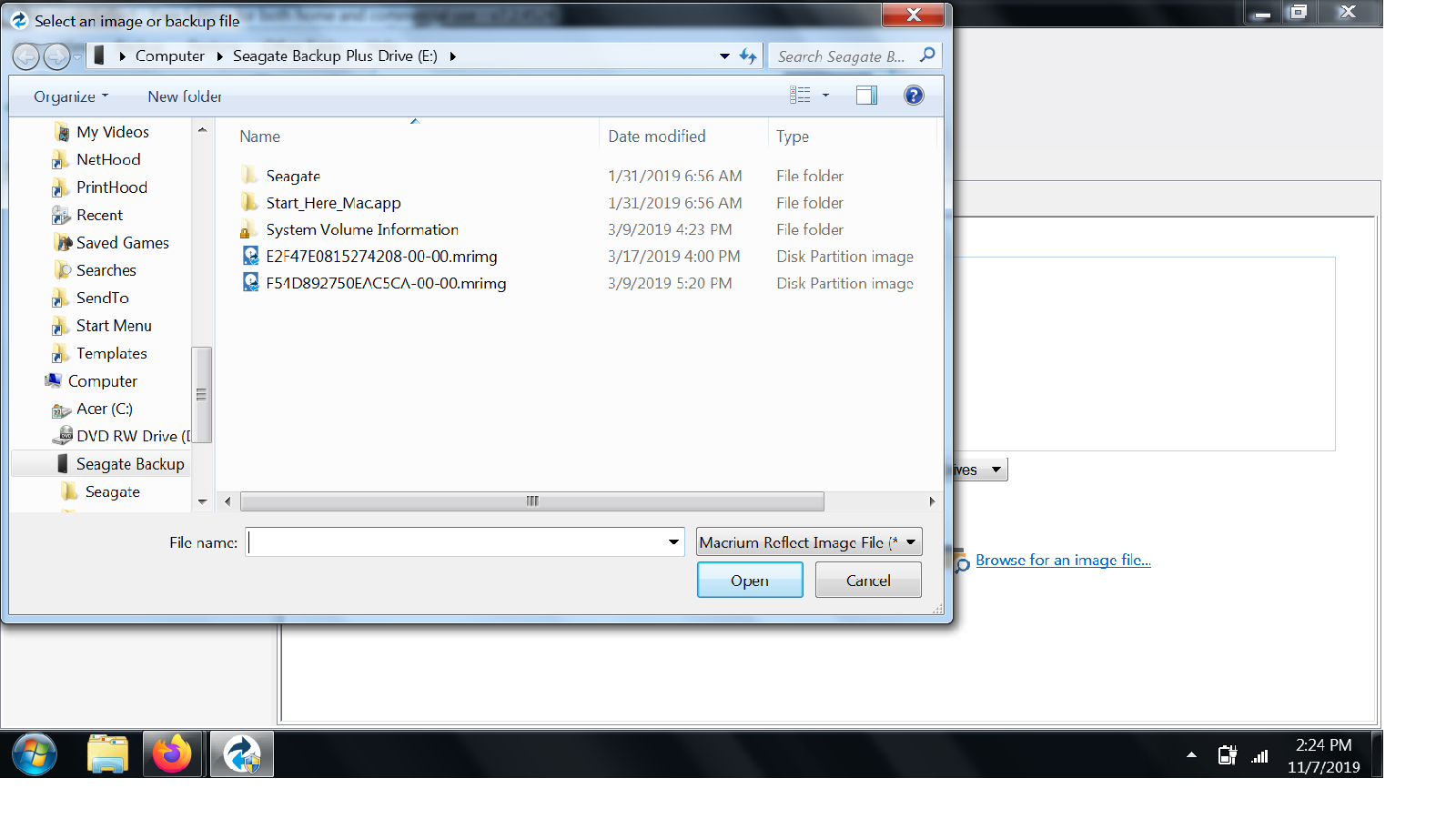 Browswe-for-image-or-backup-file-to-restore