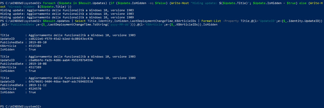 Topic: What we know about the Win10 version 1909 upgrade: Easily ...