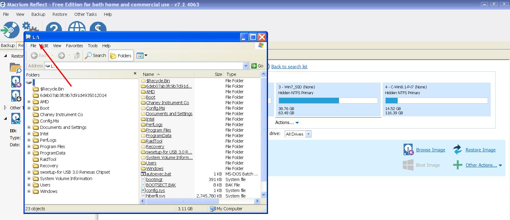 Windows-Explorer-showing-Drive-L