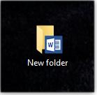Word folder