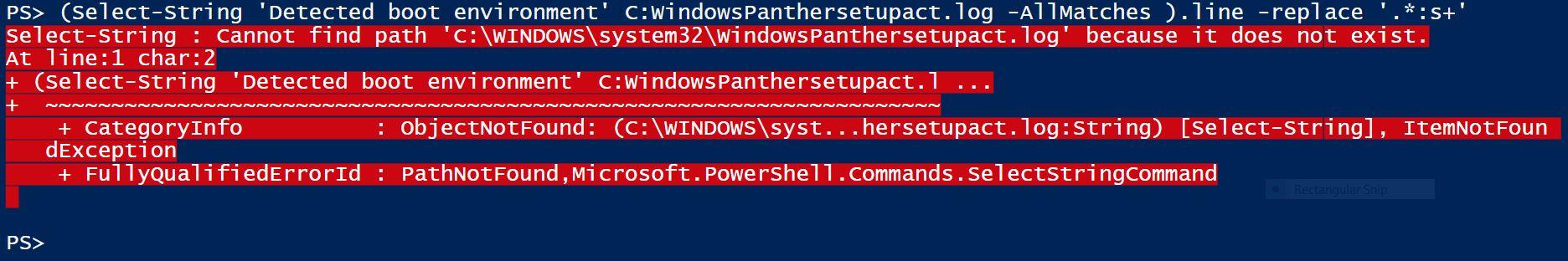 Panther-Error