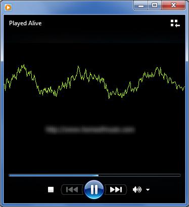 MP3-oscilloscope