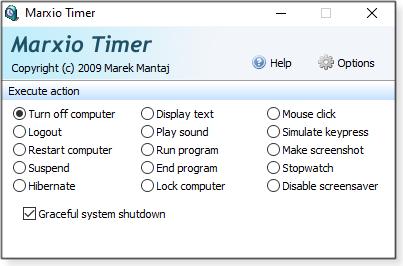 Turn off computer