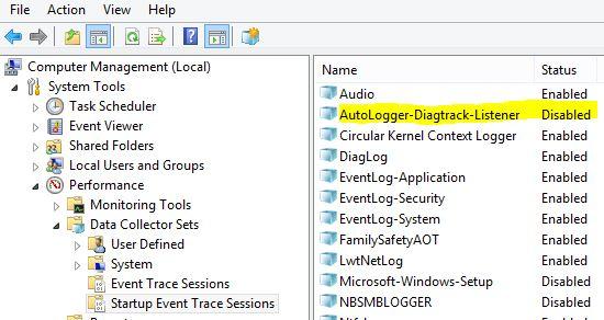 Autologger-Diagtrack