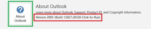 MS-Outlook-2019-C2R-Version-2005-Build-12827_20336-22-June-2020