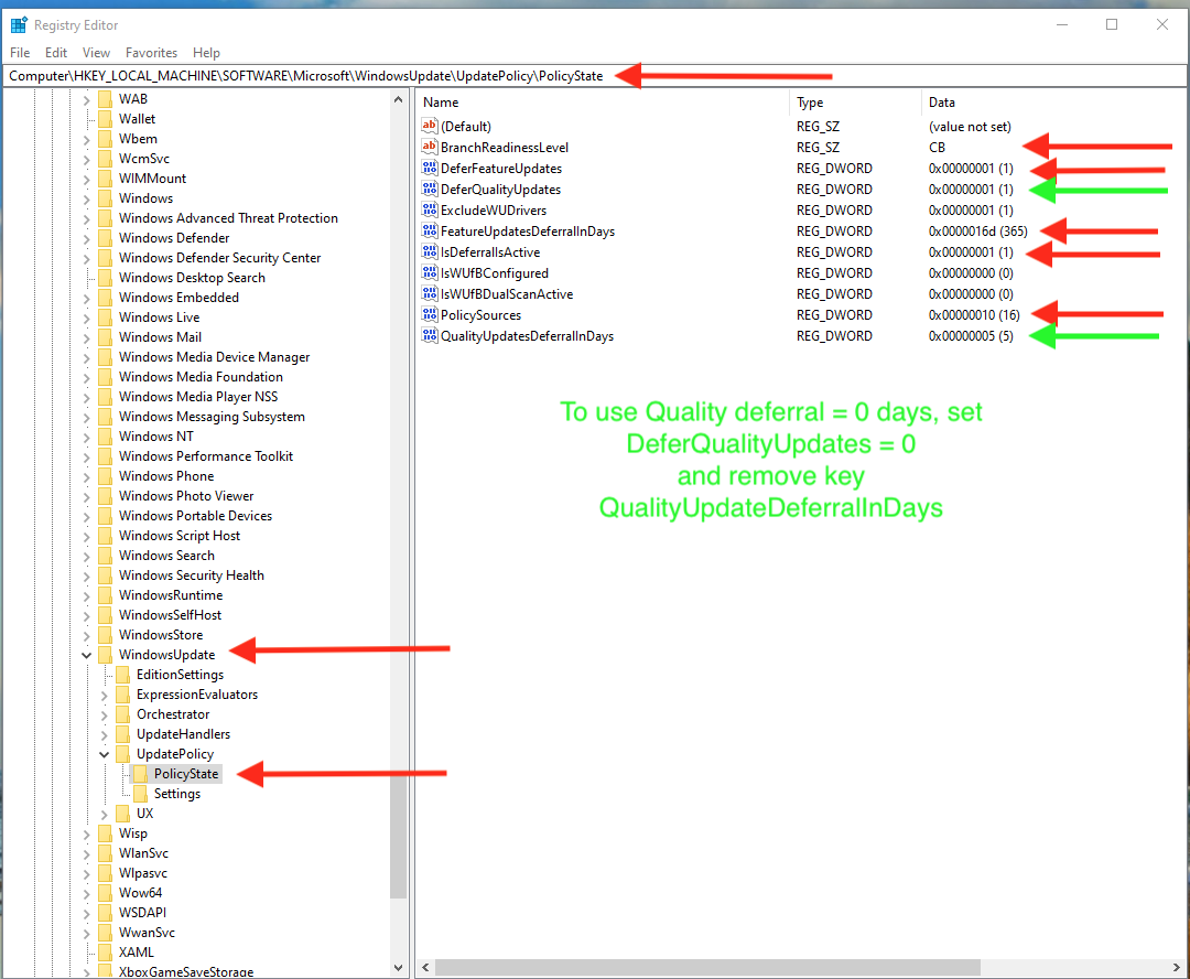 UpdatePolicy-PolicState-using-GUI