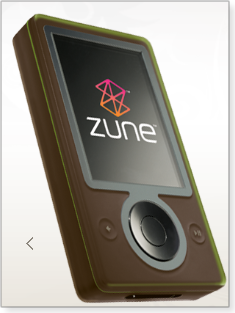 Zune player