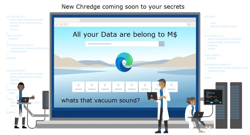 Chredge-Vacuum