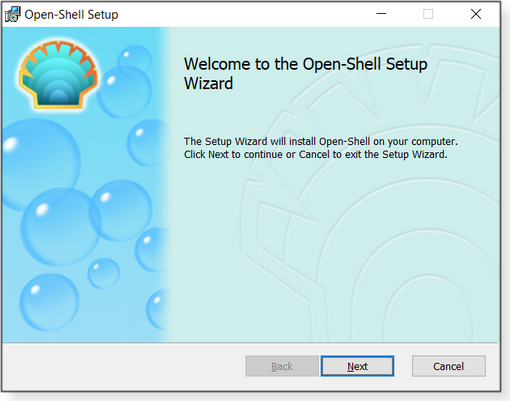 Open-Shell Wizard