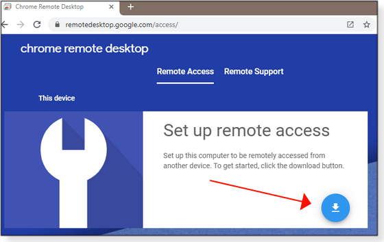 Set up remote access