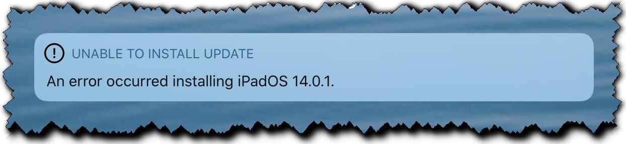 iPad-6-error-installing