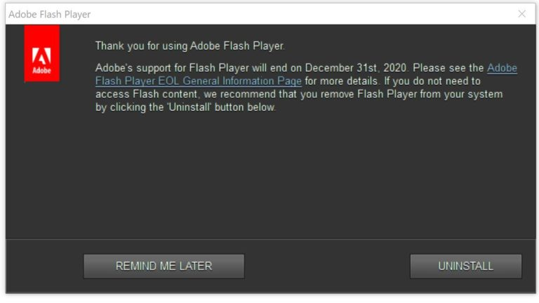 இணையத்தில் எச்சரிக்கை… Flash-768x432