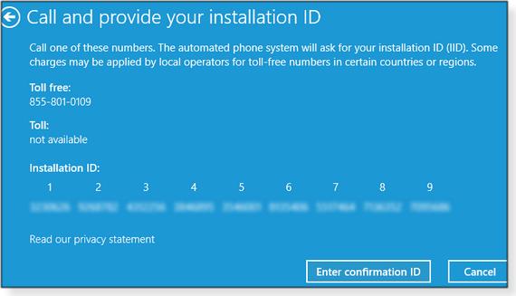 Installation ID