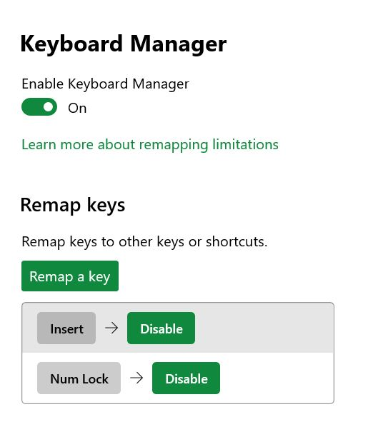 Keyboard-Manager