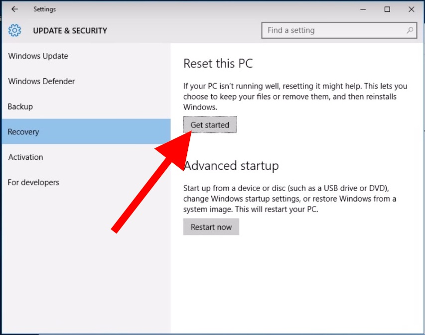 windows-reset-pc-recovery-get-started